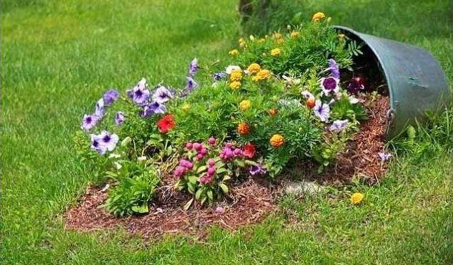 Diy ideas to use broken pots in garden hometalk diy ideas to use broken pots in garden flowers gardening landscape repurposing workwithnaturefo