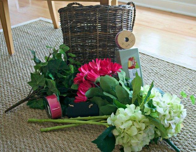 Summer Front Door Basket Hometalk