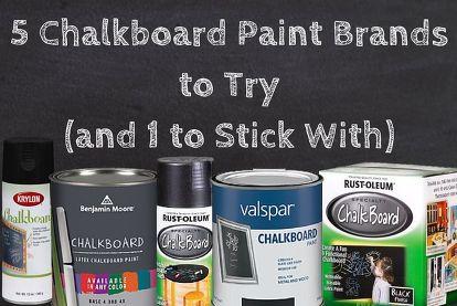 What Is The Best Chalboard Paint Review Benjamin Moore Krylan Rustoleum Valspar Chalkboard