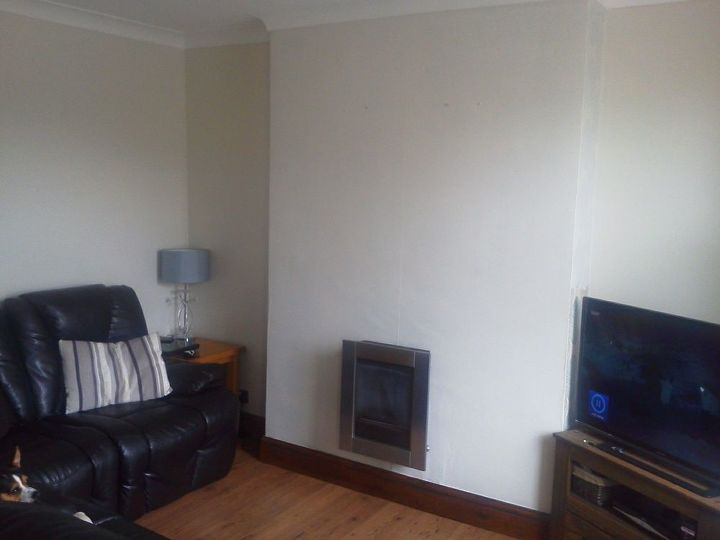 q ideas for small living room decor, living room ideas, Very bland standing infront of the window viewpoint