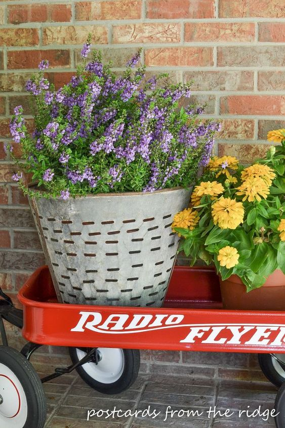 tips for summer porch decor, porches, repurposing upcycling