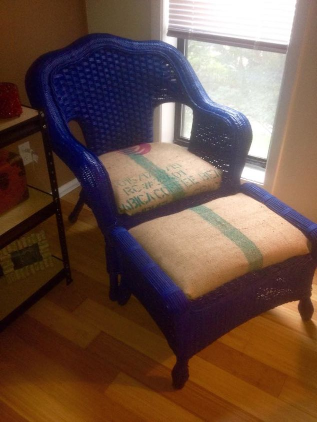 simple 20 chair makeover, painted furniture, reupholster
