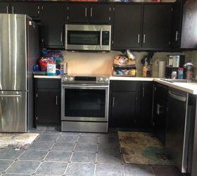 Laminate Kitchen Cabinet Makeover   Hometalk