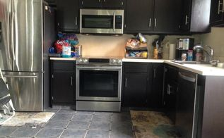 laminate kitchen cabinet makeover, kitchen cabinets, kitchen design, After Fab