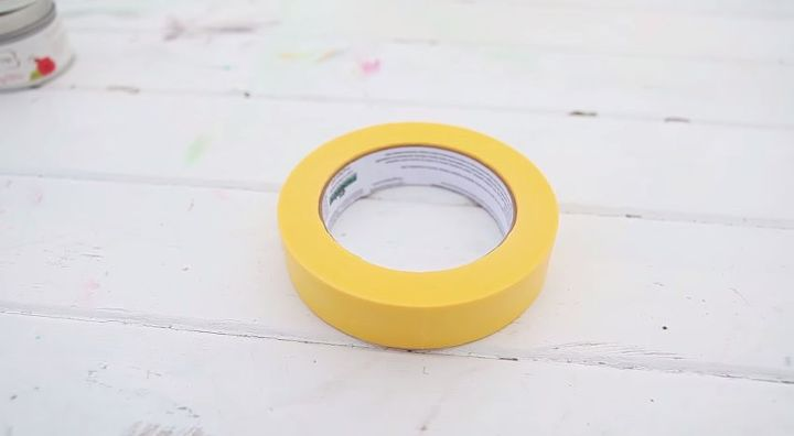 Step 2) Tape the edges