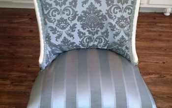 Orange Flea Market Chair to French Country Bedroom Chair!