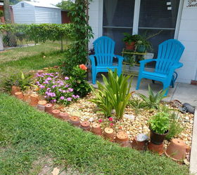 Using Terra Pots For Small Garden Border, Container Gardening, Curb Appeal,  Gardening,