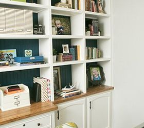 Built In Home Office Ideas Wall Diy Office Built Ins Diy Home Office How To Shelving Ideas Hometalk Diy Office Builtins Hometalk