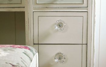 upcycled desk to french beauty, painted furniture, repurposing upcycling