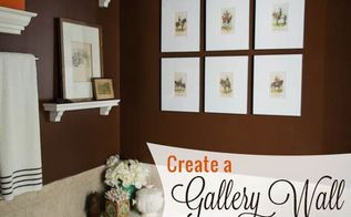 how to create hang a gallery wall on a budget, how to, wall decor