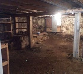 Great How To Transform A Damp Dark Basement With A Dirt Floor, Basement Ideas,  Cleaning
