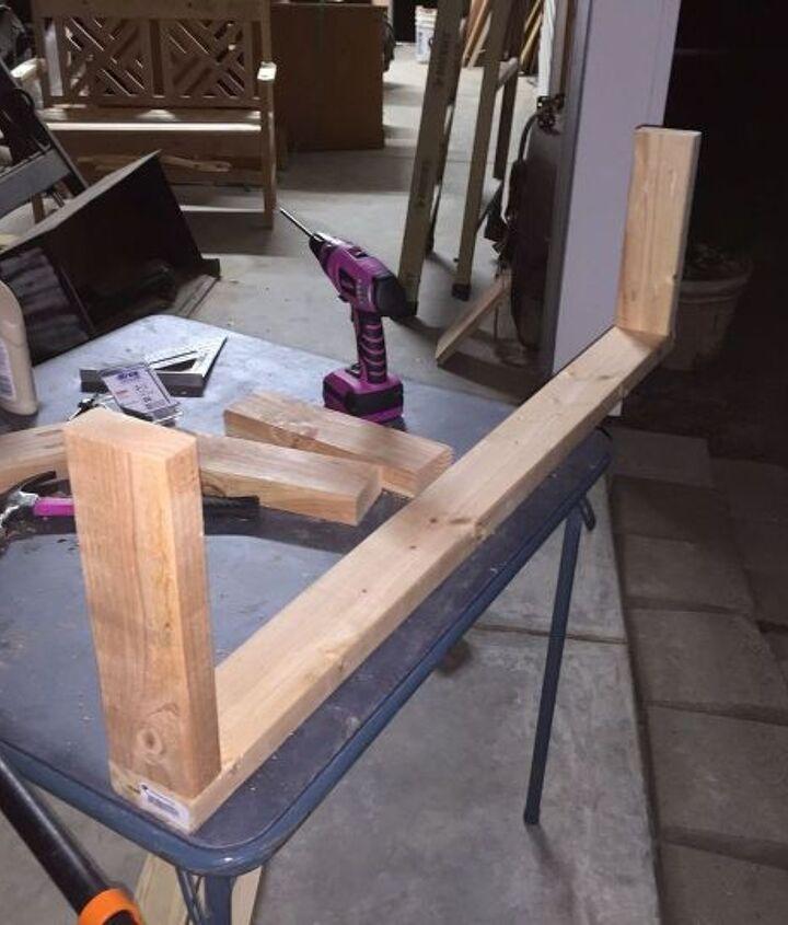 Begin building frame