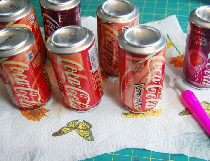 upcycled wreath from soda cans, crafts, how to, repurposing upcycling, wreaths