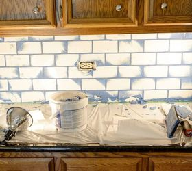 Subway Tile With Glamour Grout Backsplash, How To, Kitchen Backsplash,  Kitchen Design,