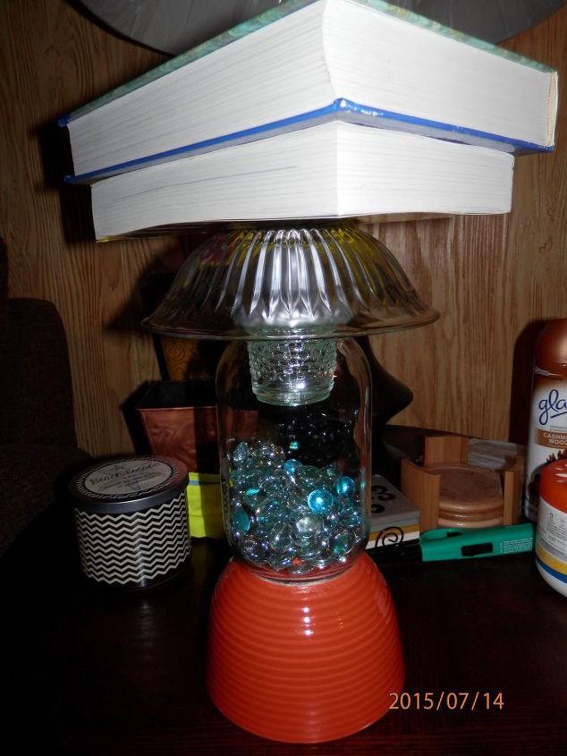 Outdoor Table Light Diy solar outdoor table lamp hometalk diy solar outdoor table lamp how to lighting mason jars outdoor living workwithnaturefo