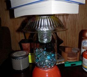 Diy Solar Outdoor Table Lamp, How To, Lighting, Mason Jars, Outdoor Living