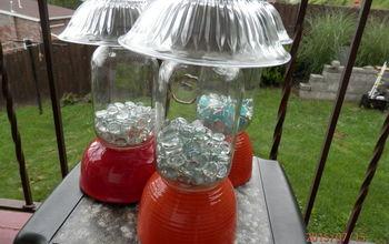 diy solar outdoor table lamp, how to, lighting, mason jars, outdoor living, repurposing upcycling