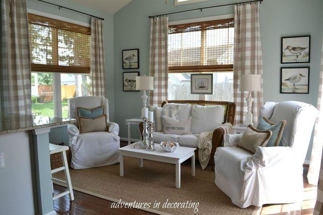 Summer Coastal Sunroom   Hometalk