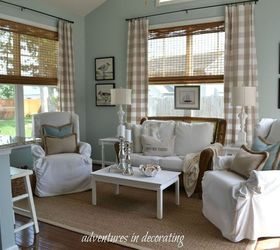 Summer Coastal Sunroom, Living Room Ideas, Outdoor Furniture, Outdoor Living  ...