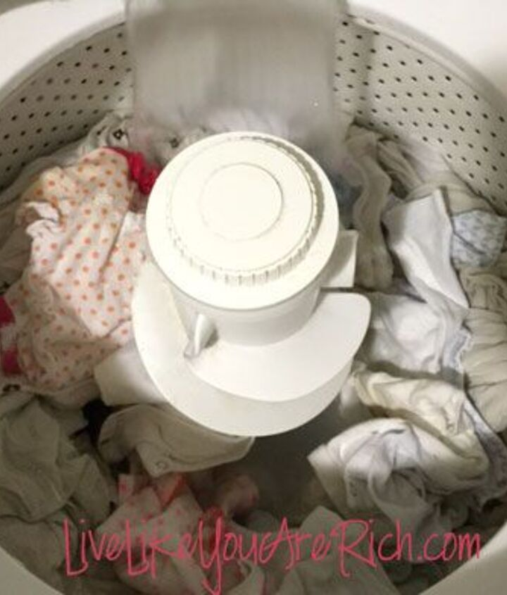 how to get stains out of clothes even after they have been dried, cleaning tips, how to, laundry rooms