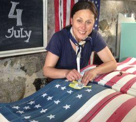 American Flag Dresser Hometalk