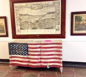 Marvelous American Flag Dresser, Painted Furniture, Patriotic Decor Ideas