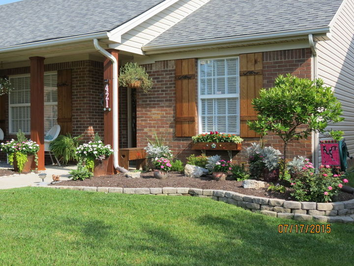 How to boost your curb appeal on a budget hometalk for How to add curb appeal to a ranch style house