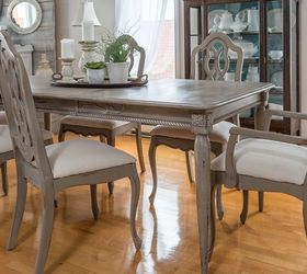 Dining Room Table Detailed Makeover, Chalk Paint, Painted Furniture,  Repurposing Upcycling