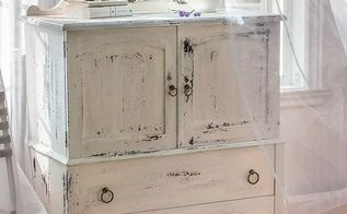 upcycled shabby chic highboy, chalk paint, painted furniture, repurposing upcycling