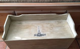 from toy chest to storage chest, painted furniture, repurposing upcycling, storage ideas