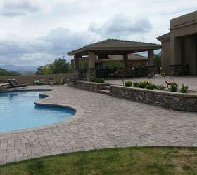 Patio Pavers In Phoenix Az, Concrete Masonry, Landscape, Pool Designs, Pool  Deck