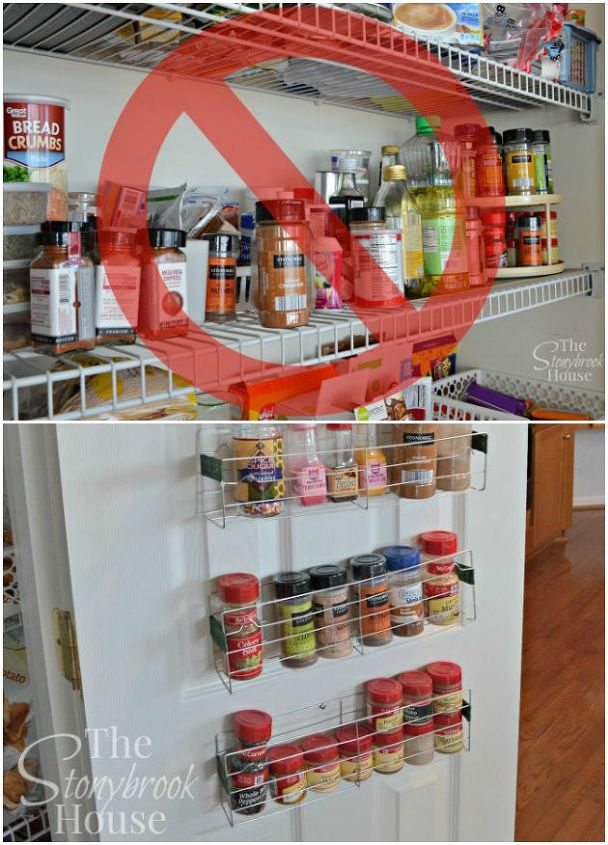 Project via Lori @[url=http://www.thestonybrookhouse.com/2015/02/easy-1-diy-spice-racks.html]The Stonybrook House[/url]