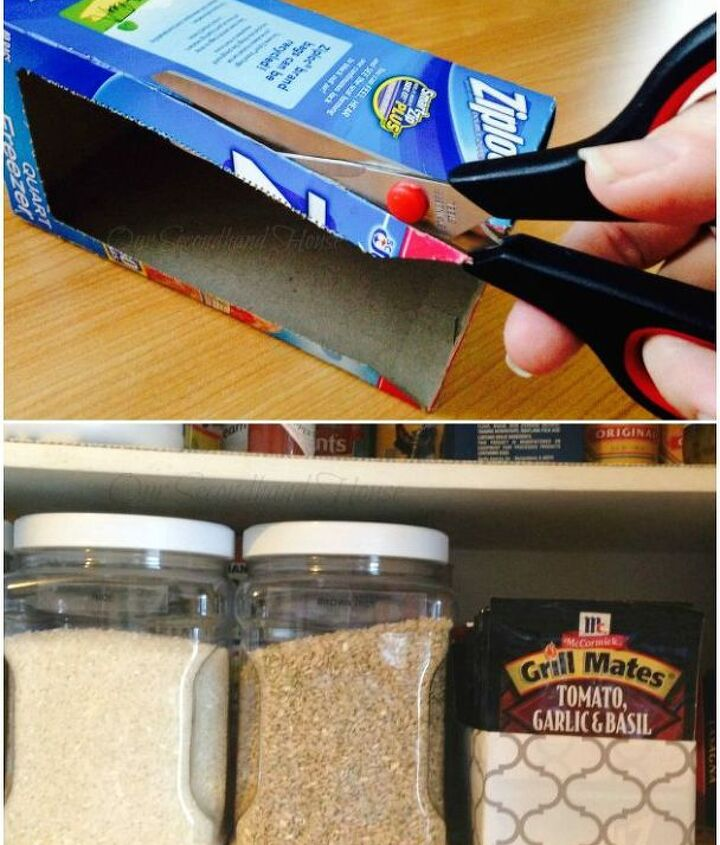 Project via Bonnie @[url=http://www.oursecondhandhouse.com/2015/02/craft-challenge-pantry-organizer.html]Our Secondhand House[/url]