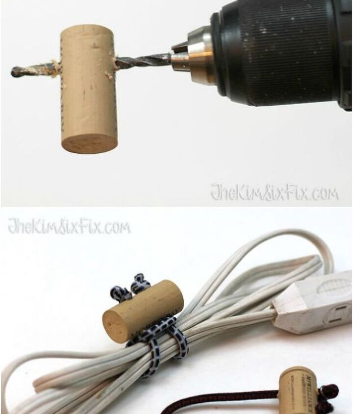 Project via Kim @[url=http://www.thekimsixfix.com/2015/02/bungee-and-wine-cork-cord-ties.html]Kim Six Fix[/url]