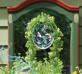Mirror On The Garden Wall, Gardening, Outdoor Living