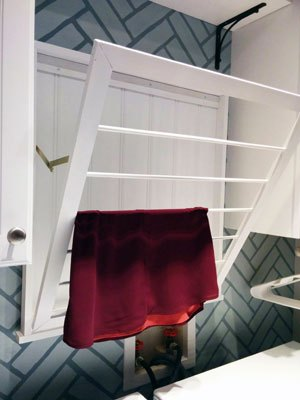 how to build a drying rack, diy, how to, laundry rooms, woodworking projects