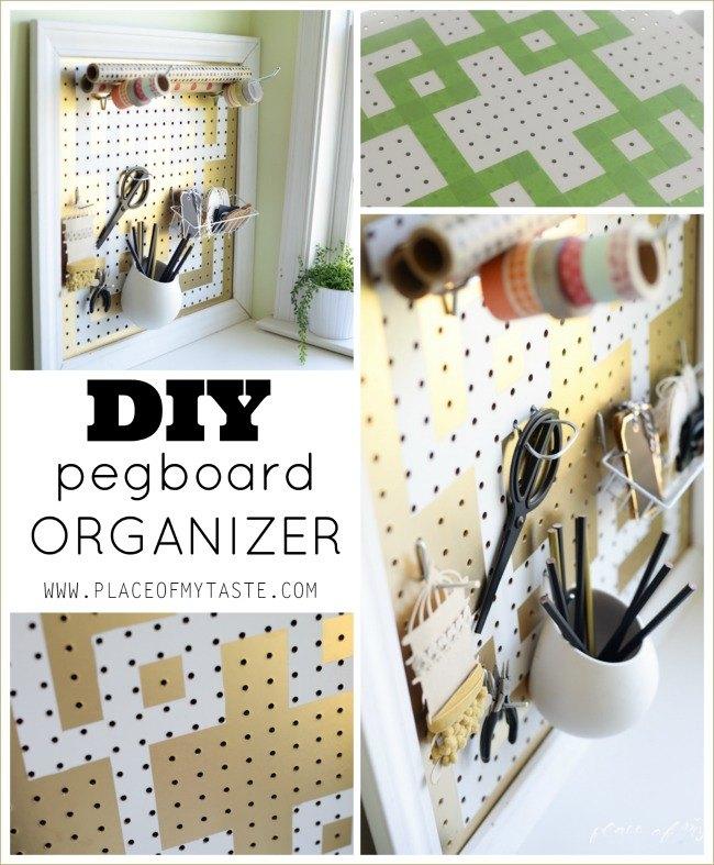 DIY Pegboard Organizer | Hometalk