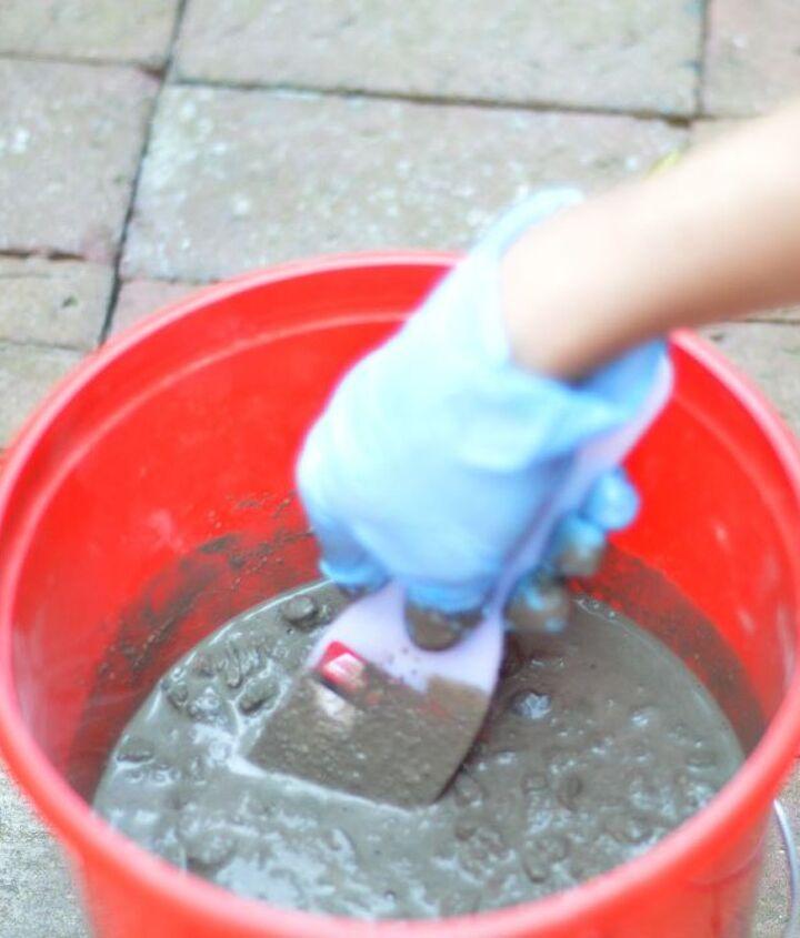 Step 3: Mix Concrete