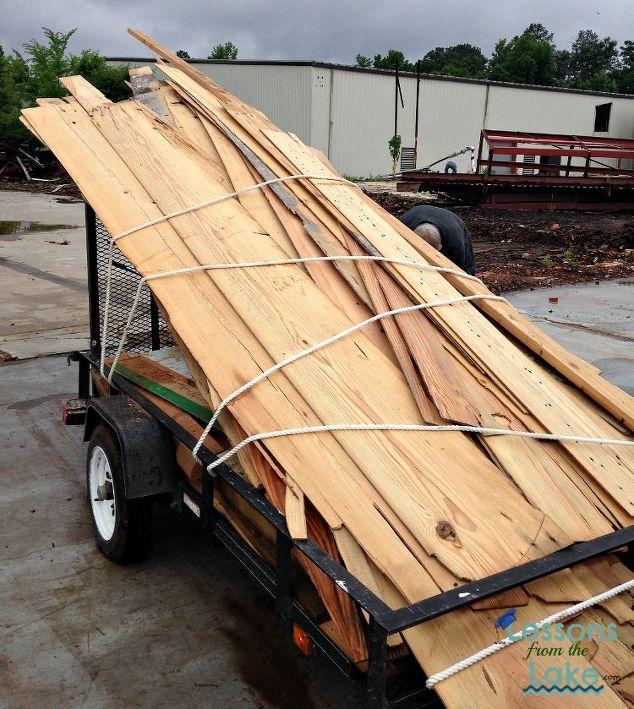 DIY Farmhouse Plank Wall | Hometalk