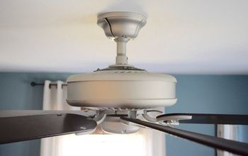 Updating a Ceiling Fan With Spray Paint