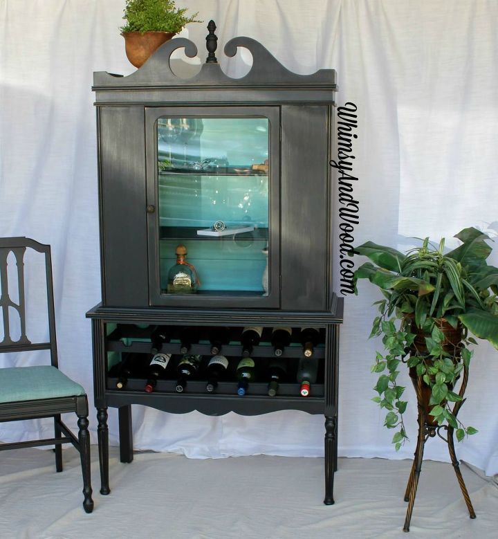 Well known Repurposed China Cabinet to Fab Wine Bar | Hometalk UH79