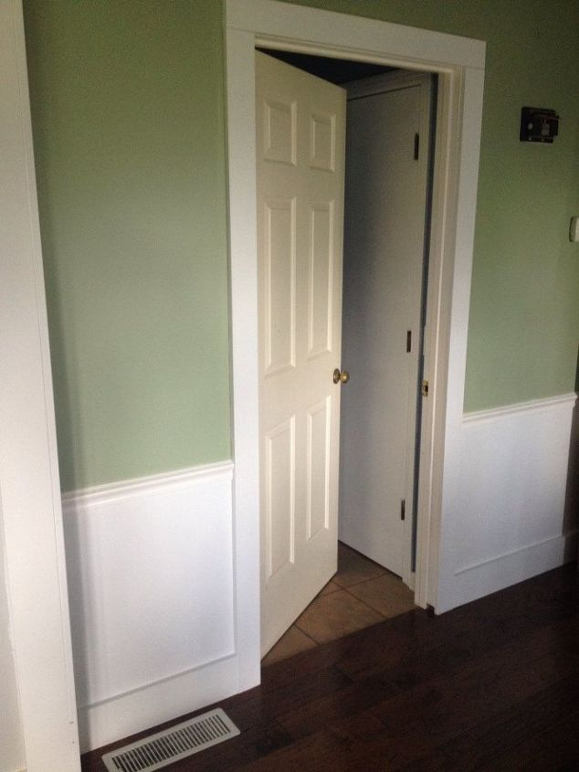 Dress Up The Mess Sliding Doors To Laundry Room Hometalk