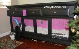 elegant bedroom bunny hutch from dresser, painted furniture, repurposing upcycling