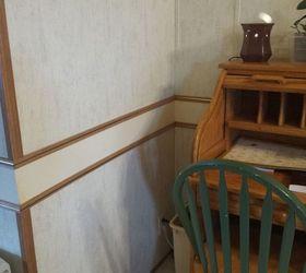 Q Removing Chair Rail In Mobile Home, Home Improvement, Wall Decor, Chair  Rail Denise Christman