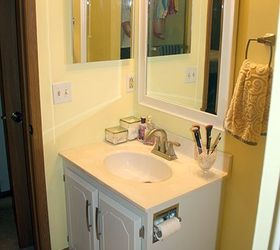 master bathroom vanity paint makeover bathroom ideas painted furniture