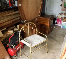 1920 S Industrial Chic Style Furniture Makeover, Painted Furniture,  Repurposing Upcycling, Reupholster