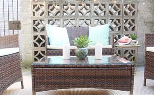 small space makeover back patio, outdoor living, patio, urban living