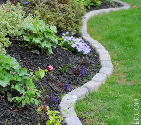 9 Amazing Garden Edge Ideas From Wildly Creative People, Concrete Masonry,  Container Gardening,