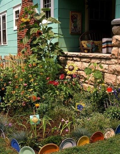 9 Amazing Garden Edge Ideas from Wildly Creative People   Hometalk