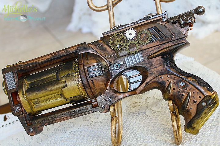 Image of 3D Printed Nerf Gun Parts, Mods & Attachments: Steampunk Nerf Parts